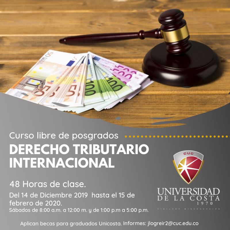 Derecho tributario internacional - Actualiza tus conocimientos con los cursos libres de Posgrado