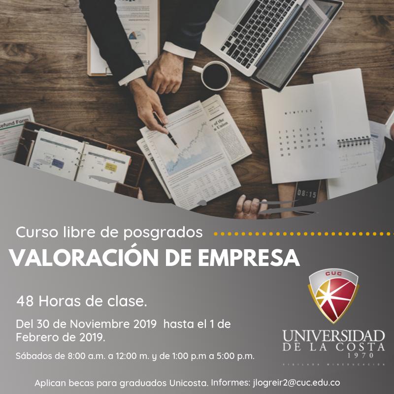 Valoración de empresa - Actualiza tus conocimientos con los cursos libres de Posgrado