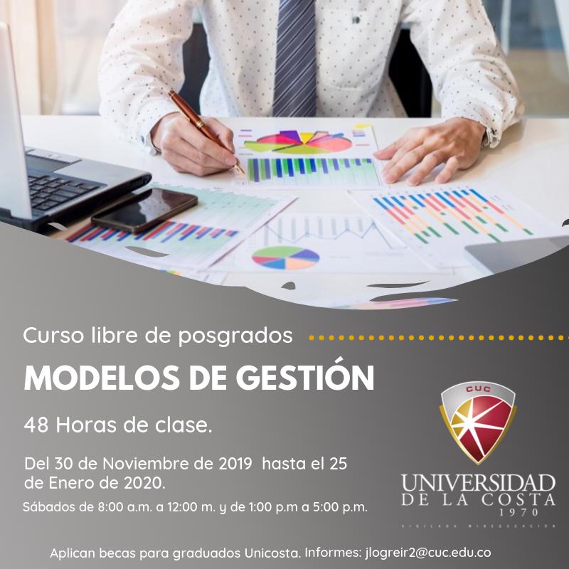 Modelos de Gestión - Actualiza tus conocimientos con los cursos libres de Posgrado