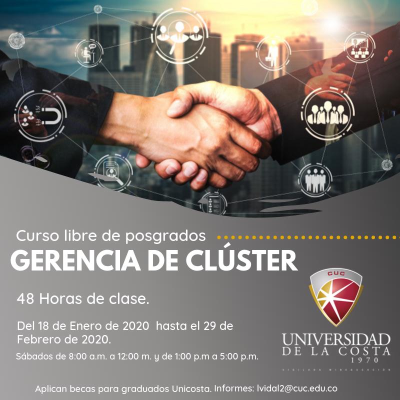 Gerencia de Cluster - Actualiza tus conocimientos con los cursos libres de Posgrado