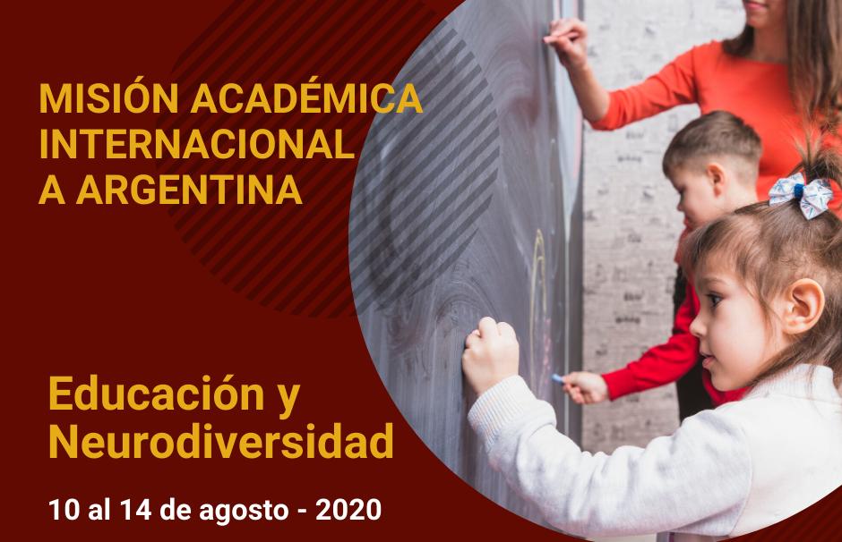 """Misión Académica Internacional en """"Educación y Neurodiversidad (Cátedra II)"""""""