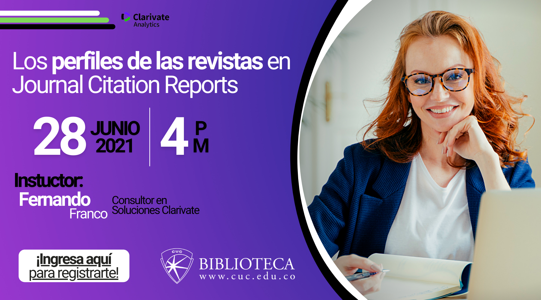 Los perfiles de las revistas en Journal Citation Reports