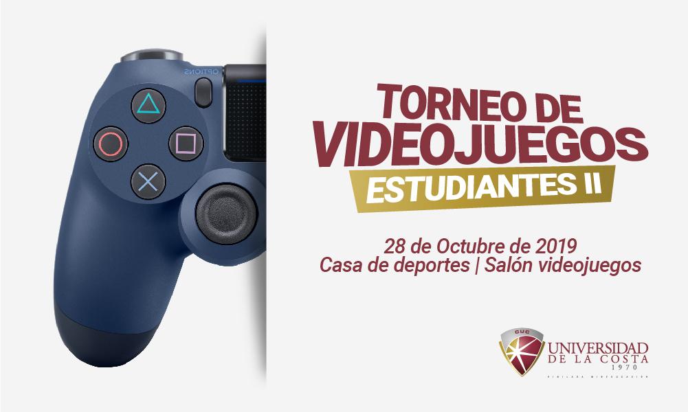 II Torneo de Video Juegos para estudiantes UniCosta