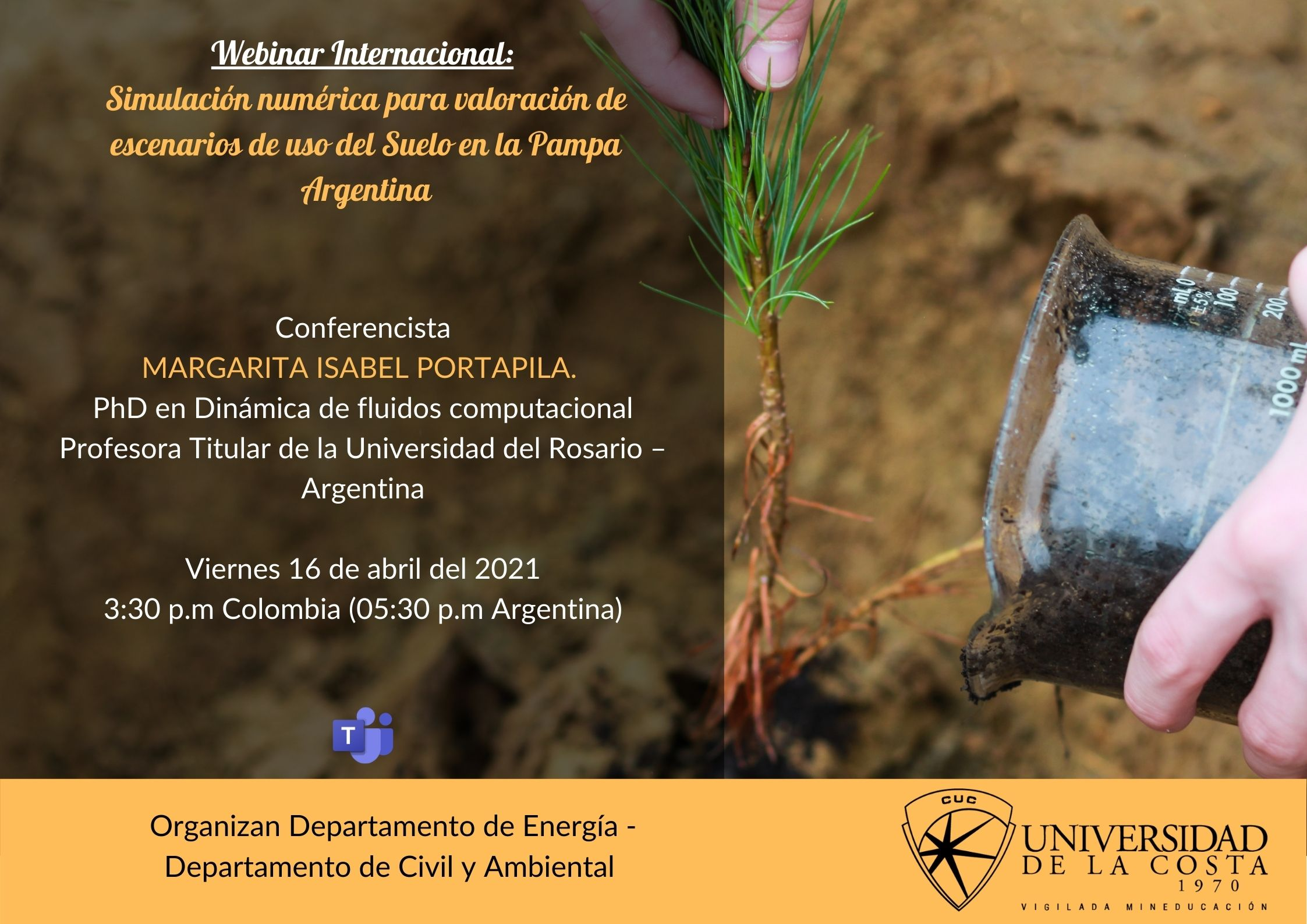 Simulación numérica para la valoración de escenarios del uso del suelo en la Pampa Argentina'