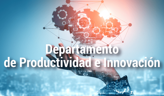 Dpto. de Productividad e Innovación