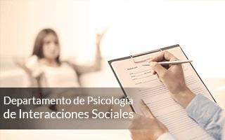 Dpto. de Psicología de las Interacciones Sociales