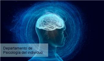 Dpto. de Psicología del individuo