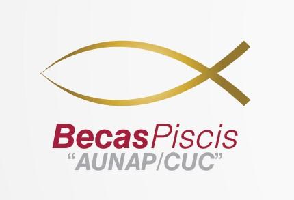 Logo becas piscis