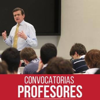 Convocatorias docente