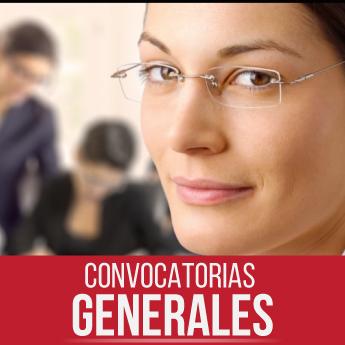 Convocatorias generales