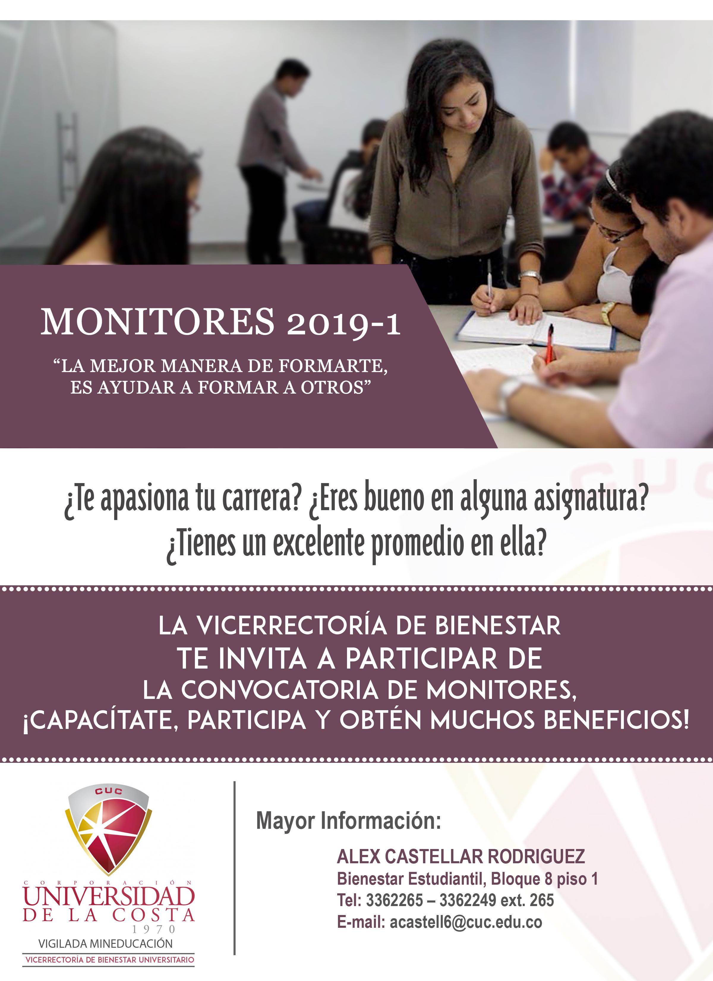 monitores flayer convocatoria 2019 1