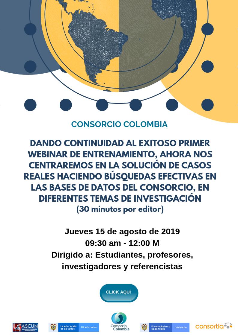 Webinar Consorcio Colombia