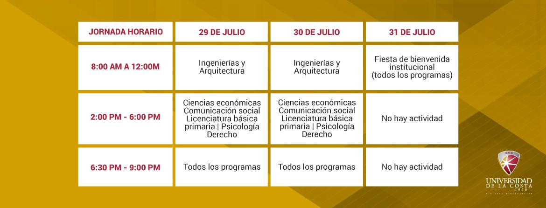 Programacion Induccion 2019 2