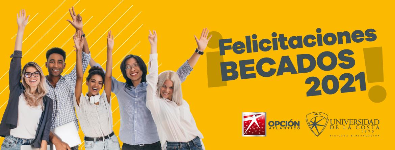 HEADER FELICITACIONES BECADOS Opcion Atlantico 2021 UNICOSTA CUC
