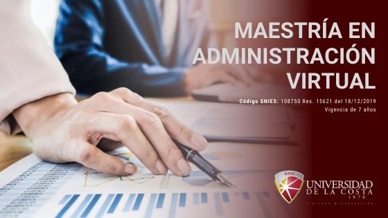 Maesria en Administracion virtual
