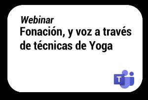 fonacion voz tecnicas yoga expo bienestar