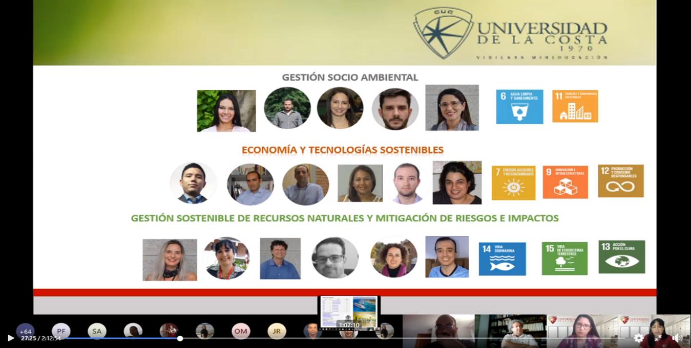 webinar doctorado desarrollo sostenible cuc