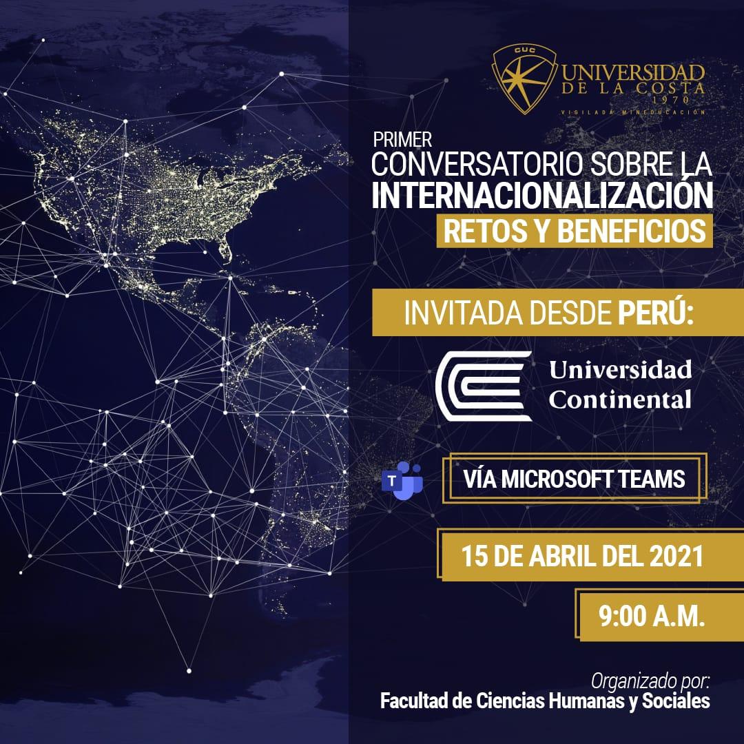 conversatorio internacionalizacion unicosta cuc