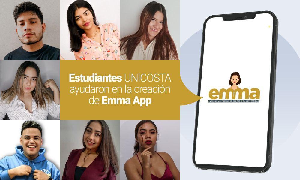 estudiantes unicosta creacion app emma cuc