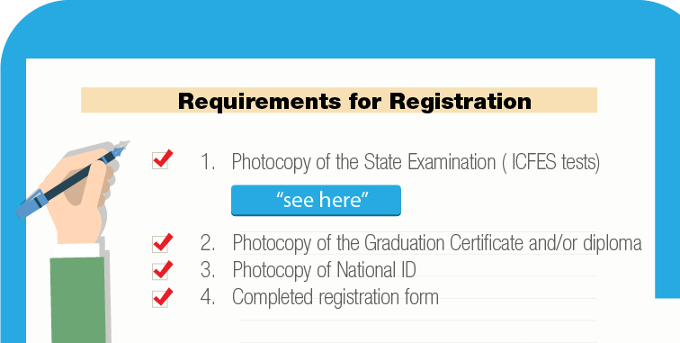 Requirements for Registration