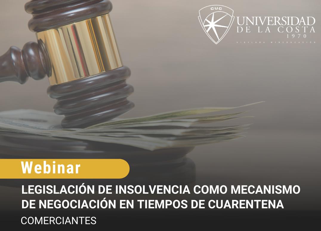 principal legislacion insolvencia mecanismo universidad de la costa cuc