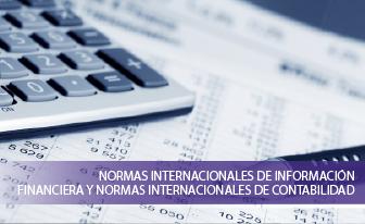 Normas Internacionales de Información Financiera y Normas Internacionales de Contabilidad