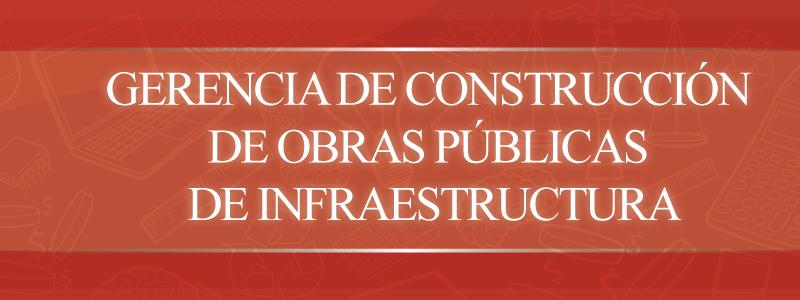 GerenciaConstruccinObrasPblicasInfraestructura