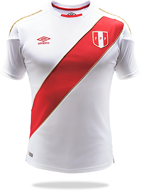 Camiseta oficial de la Selección Peruana