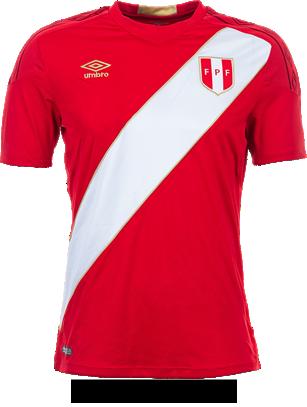 Camiseta alterna de la Selección Peruana