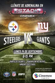 -NFL20- Pittsburgh Steelers vs New York Giants