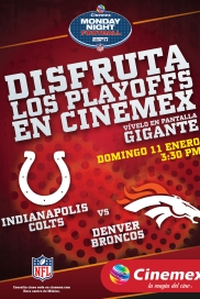 -NFL14- Indianapolis Colts Vs Denver Broncos