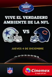 -NFL14- Dallas Cowboys Vs Chicago Bears