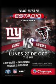 Poster de:2 -NFL18- NYG vs ATL