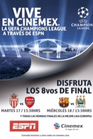 -UEFA15- AS MONACO VS ARSENAL