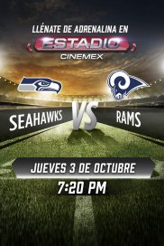 -NFL19- Seattle Seahawks vs Los Angeles Rams