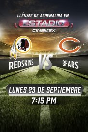 -NFL19- Washington Redskins vs Chicago Bears
