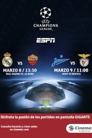 -UEFA16- AS ROMA VS REAL MADRID