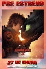 Poster de:1 Cómo Entrenar A Tu Dragon 3