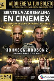 UFC 191- Johnson Vs Dodson 2