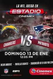 -NFL18- Final Divisional: Chargers vs. Patriots