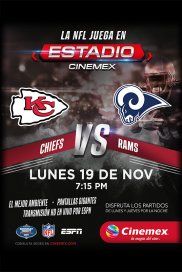 Poster de:2 -NFL18- KC vs LA