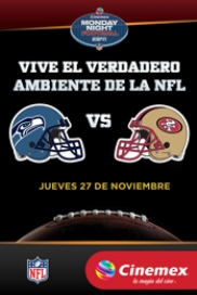 -NFL14- Seattle Seahawks Vs San Francisco 49ers