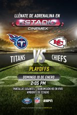 -NFL19- Campeonato Conferencia: Tennessee Titans vs Kansas City Chiefs