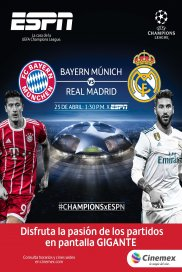 -UEFA18- Bayern vs Real Madrid