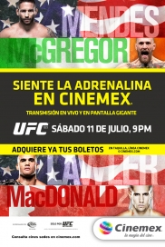 -ufc189- Mendes vs Mcgregor