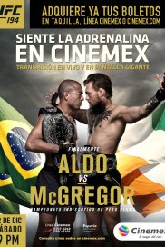 UFC194- Aldo Vs Mcgregor