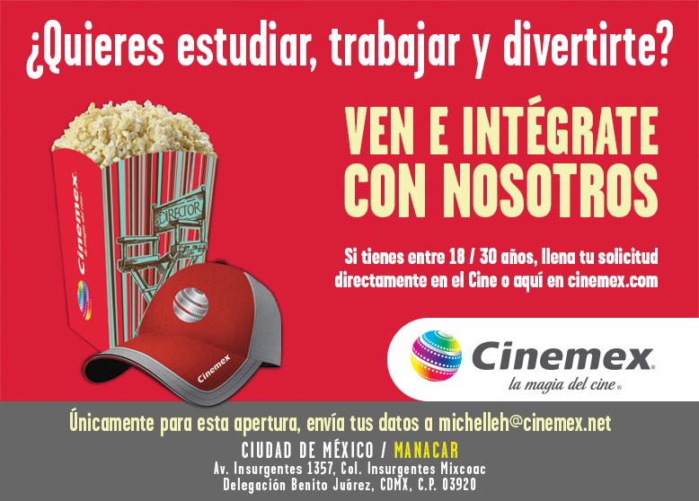 Solicitud De Empleo Cinemex