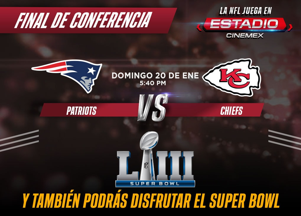 Nfl Cinemex Cinemex