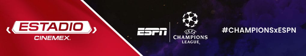La Champions League en Estadio Cinemex