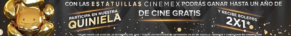 Estatuillas Cinemex